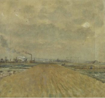 Landscape in Banlieue | Jean Francois Raffaelli | oil painting