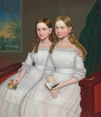 Dennison Sisters | Unknown Artist | oil painting