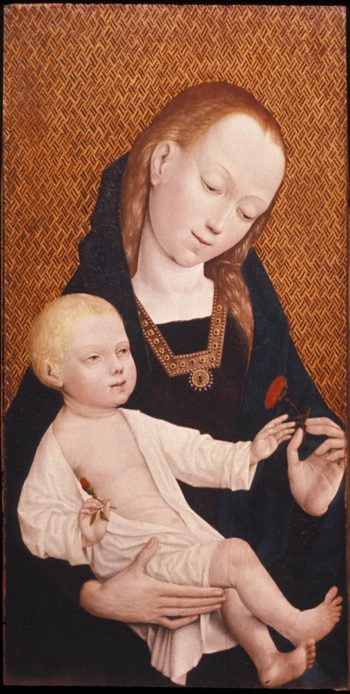 The Virgin And Child | Master of Frankfort | oil painting
