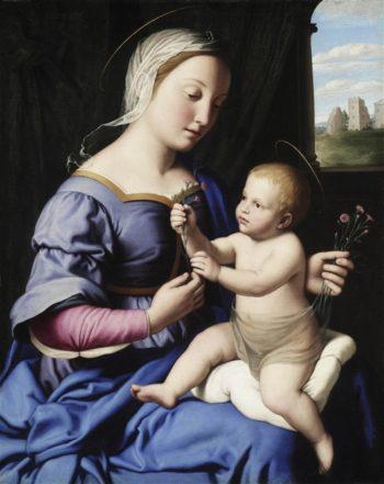 Madonna And Child | Sassoferrato | oil painting
