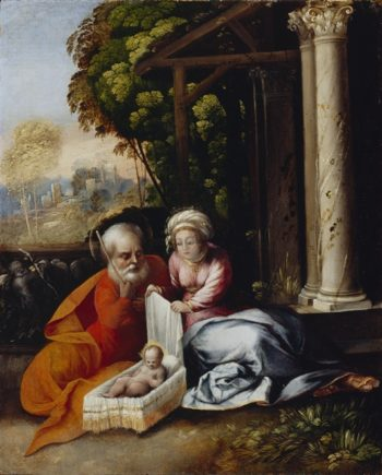The Holy Family | Aelbert Cuyp | oil painting