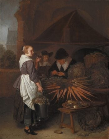 Vegetable Stall | Aelbert Cuyp | oil painting