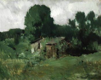Landscape   Albert Bierstadt   oil painting