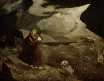 The Tempest | Albert Pinkham Ryder | oil painting