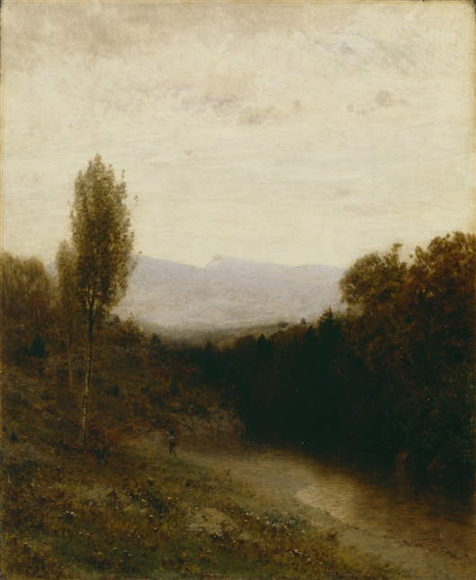 A View Of Whiteface Mountain | Alexander Helwig Wyant | oil painting
