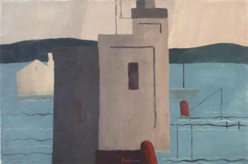 Lloyd's Harbor | Arthur Garfield Dove | oil painting