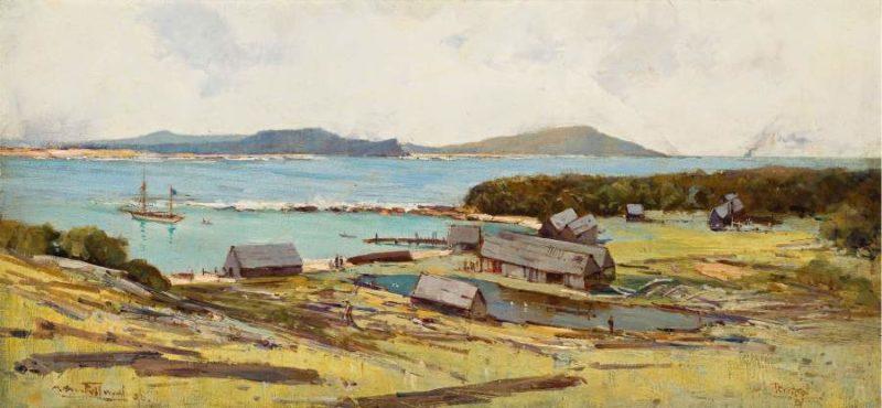 Terrigal (Smokey Cape) 1896 | Albert Henry Fullwood | oil painting