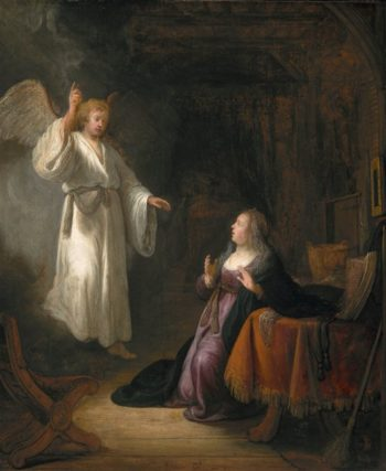 The Annunciation | Barend van Kalraet | oil painting