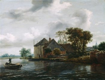Canal Scene | Bartholomeus van Bassen | oil painting