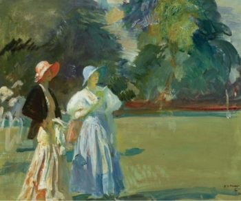 Ascot 1933 | Alfred James Munnings | oil painting