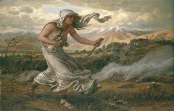 The Cumaean Sibyl | Benjamin West | oil painting