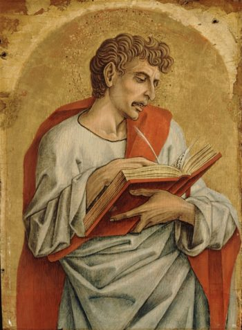 Saint John The Evangelist | Carlo Crivelli | oil painting