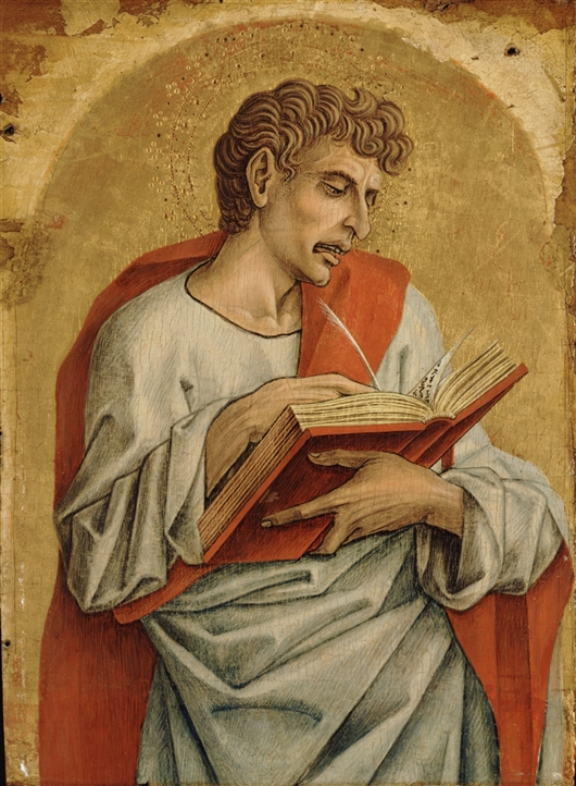 Saint John The Evangelist | Carlo Crivelli | oil painting