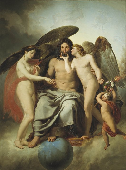 Betrothal Of Cupid And Psyche | Carlo Dolci | oil painting