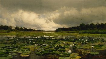 The Lily Pond | Charles Harry Eaton | oil painting