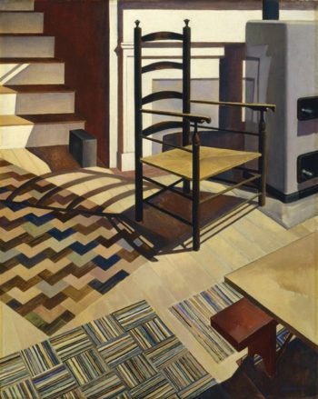 Home Sweet Home | Charles Sheeler | oil painting