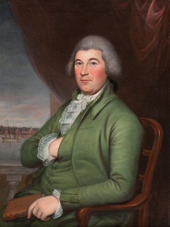 Christopher Hughes | Charles Willson Peale | oil painting