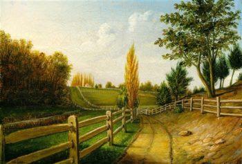 Belfield Farm | Charles Willson Peale | oil painting
