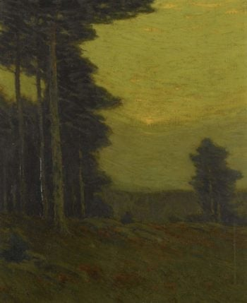 Edge of the Woods | Charles Warren Eaton | oil painting