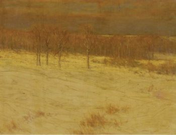 Snow Covered Fields 1895 | Charles Warren Eaton | oil painting
