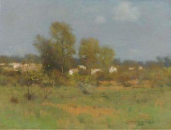 Springtime 1889 | Charles Warren Eaton | oil painting