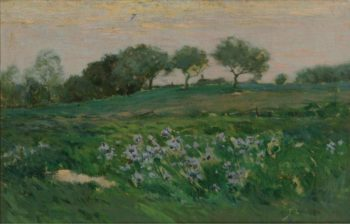 Twilight at the Meadow | Charles Warren Eaton | oil painting