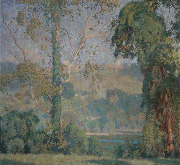 Vineclad Trees | Daniel Garber | oil painting