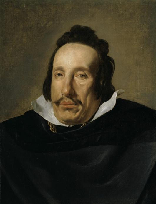 A Man | Diego Rodriguez de Silva Velazquez | oil painting