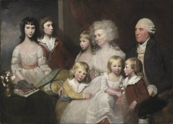 The Todd Family | Dwight William Tryon | oil painting