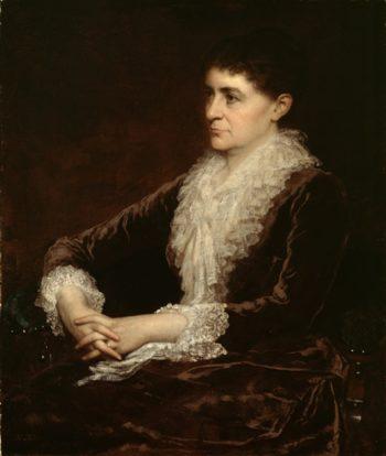 Mrs. Allan Shelden | Eastman Johnson | oil painting