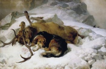 Chevy | Edwin Henry Landseer | oil painting