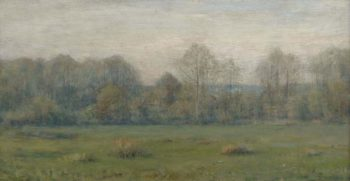 A Spring Morning 1890s | Dwight William Tryon | oil painting