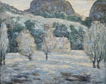 Winter | Ernest Lawson | oil painting