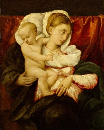 Madonna And Child | Eug?ne Carri?re | oil painting