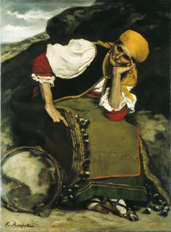 The Gypsy Woman | Ferdinand Roybet | oil painting