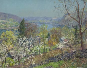 The Delaware Valley | Edward Willis Redfield | oil painting