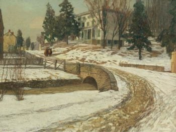 The White House 1909 | Edward Willis Redfield | oil painting