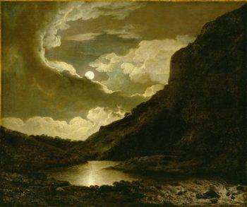 Matlock Tor By Moonlight | Frans Hals | oil painting