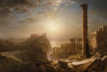 Syria By The Sea | Frederic Edwin Church | oil painting
