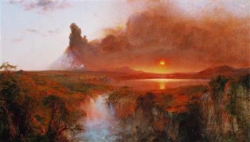 Cotopaxi | Frederic Edwin Church | oil painting