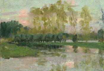 Landscape | Emanuel Phillips Fox | oil painting