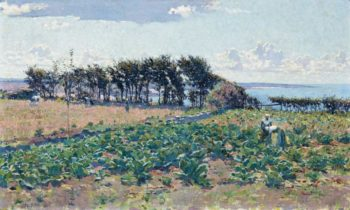 The Cabbage Patch 1889 | Emanuel Phillips Fox | oil painting