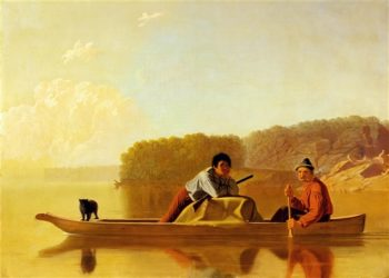 The Trappers' Return | George Caleb Bingham | oil painting
