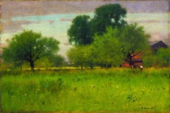 Apple Orchard | George Inness | oil painting