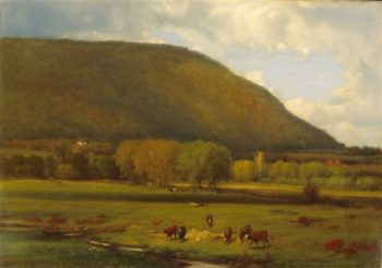 Hudson River Valley | George Inness | oil painting