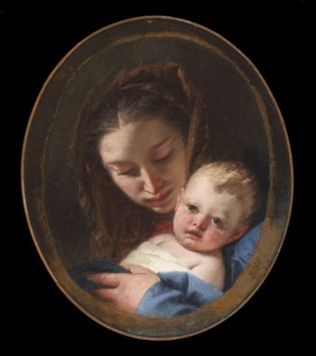Madonna And Child | Giovanni Battista Tiepolo | oil painting
