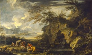 The Finding Of Moses | Giovanni Paolo Panini | oil painting