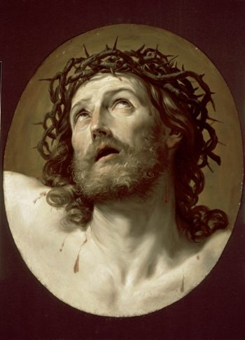 Head Of Christ Crowned With Thorns | Guido Reni | oil painting