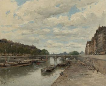 Pont Neuf 1896 | Frank Myers Boggs | oil painting