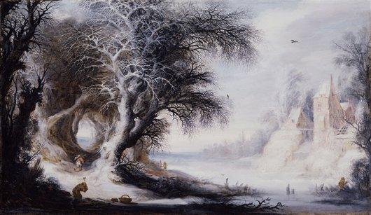 Winter Landscape | Gysbrecht Leytens | oil painting